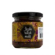 Baļļas z/s, medus ar lazdu riekstiem, 245g stikla burciņā