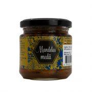Baļļas z/s, medus ar mandeļu riekstiem, 245g stikla burciņā