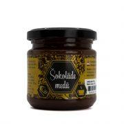 Baļļas z/s, medus ar šokolādi, 250g stikla burciņā