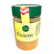 Garšaugu maisijums- rīsiem, caurspīdīgā iepakojumā ar dzeltenu etiķeti, 150g.