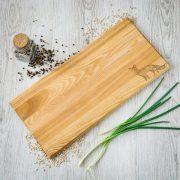 Koka virtuves dēlītis, 450x210mm, Lapsa