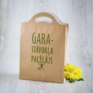 """Dāvanu maisiņš ar tekstu: """"Garastāvokļa pacēlājs"""""""