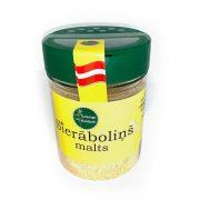 Garšaugu maisijums- sierāboliņš malts, caurspīdīgā iepakojumā ar dzeltenu etiķeti, 80g.