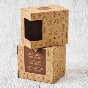 Krūžu kaste Dabas dizaina krūzēm