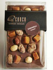 Choco šokolāde, Piena šokolādes tāfelīte ar karameli, 120g