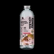 PURENN veļas mazgāšans līdzeklis Sensitive bez smaržvielām 1l baltā pudelē ar rozā etiķeti