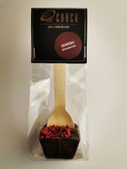 Choco šokolāde, šokolādes dzēriens ar zemenēm, 50g