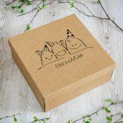 """Dāvanu kaste, """"Mošķīši"""" (310x310x120mm)"""