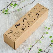 """Dāvanu kaste, """"Ziemassvētki"""", (85x85x328mm)"""