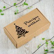 "Dāvanu kaste, ""Eglīte"", (230x127x60mm)"