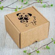 "Dāvanu kaste, ""Mopsis"", (120x120x80mm)"