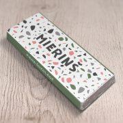 daba piena šokolāde ar tekstu mieriņš astoņpadsmit grami