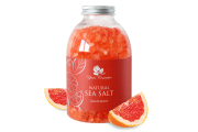 Yani Cosmetics, dabīgs jūras sāls ar greipfrūtu, 500g