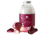 Yani Cosmetics, jūras sāls ar rožu aromātu, 500g