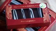Amberfarm, smiltsērkšķu marmelāde tumšajā šokolādē, vegan, 175g