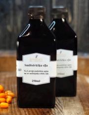 Amberfarm, smiltsērkšķu eļļa, auksti spiesta, 250ml