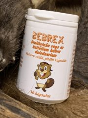 Bebrex, uztura bagātinātājs, staltbrieža rags ar kaltētiem bebra dziedzeriem, 30 kapsulas