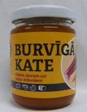 GiLine, BURVĪGĀ KATE, kurkumas, rabarberu, burkānu džems ar melnajiem pipariem un citronu, 175g