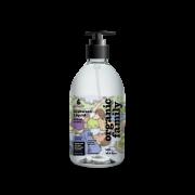 Purenn trauku mazgāšanas līdzeklis ar lavandu un pīlādžiem 500ml baltā pudelē ar raibu etiķeti