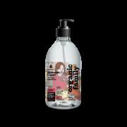 Purenn trauku mazgājamais līdzeklis ar alveju un brūklenēm 500ml baltā pudelē ar rozā etiķeti