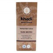 Khadi, matu krāsa, dark brown, 100g