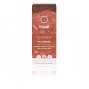 Khadi, matu krāsa light brown, 100g