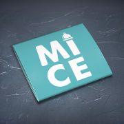 Prezervatīvs, dadzis, ar attēlotu tekstu - Mice