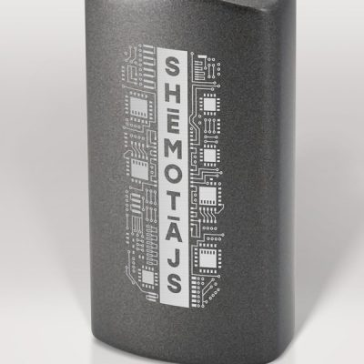 Alumīnija pudele, 600ml, Shēmotājs