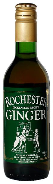 Rochester, bezalkoholiskais ingvera dzēriens ginger, 245ml