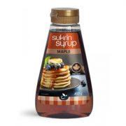 Sukrin Sirup Maple kļavu sīrups 450g tumši brūns šķidrums caurspīdīgā pudelē