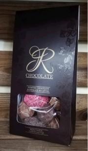 R-chocolate trifeļu asorti 180g tumši brūnā iepakojumā