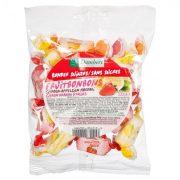 damhert mīkstās augļu konfektes bez cukura 100g caurspīdīgā paciņā ar balti sarkanu etiķeti
