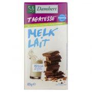 piena šokolāde damhert 85g balti-violetā iepakojumā