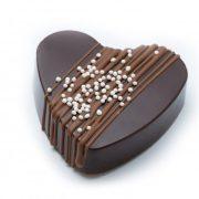 R-chocolate tumšās šokolādes sirsniņa