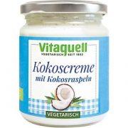 Vitaquell kokosriekstu krēms 250 g burciņā ar zilu etiķeti