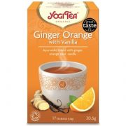 Yogi tea apelsīnu un vaniļas tēja 30,6 g oranžā iepakojumā