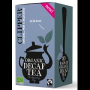 Clipper melnā tēja bez kofeīna 50 g pelēkā kastītē
