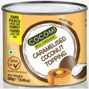 Cocomi karamelizēts kokosriekstu krēms 240g gaiši brūnā bundžā