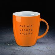 DADZIS-Oranža-Krūze-Neliela oranža krūzīte-300ml