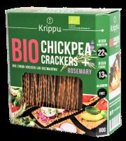 Krippu rozmarīna krekeri 80 g zaļā kastītē