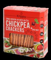 Krippu krekeri ar bieti un čilli 80 g sarkanā kastītē