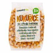 Country life Kukurūzas graudi popkornam BIO 200g caurspīdīgā iepakojumā