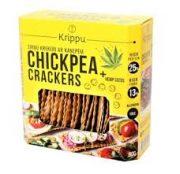 Krippu krekeri ar kaņepju sēklām 80 g dzeltenā kastītē