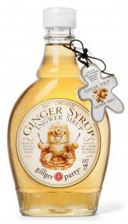 Ginger people ingvera sīrups 237 ml caurspīdīgā pudelē