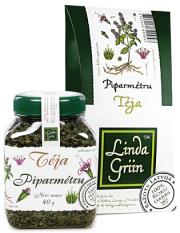 LindaGriin, piparmētru tēja, burkā, 40g