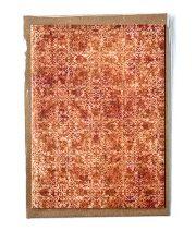 """Kartīte, """"Austra"""", oranža (105x145mm)"""