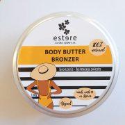 Estere cosmetics, ķermeņa sviests - bronzeris, 140g