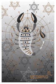 """Kartīte, """"Skorpions"""" (100x150mm)"""