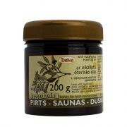 Deiva, pirts medus ar eikalipta ēterisko eļļu, 200g tumšā burciņā