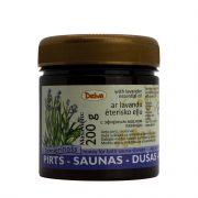 Deiva, pirts medus ar lavandas ēterisko eļļu, 200g tumšā burciņā